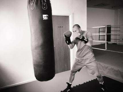 Training at Lusby's, Kirkintilloch